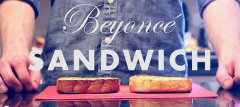 DIY Pop Superstar Sandwiches
