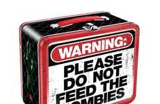 Zombie Warning Lunch Boxes - These Lunch Boxes Playfully Warn Against Possible Monster Attacks