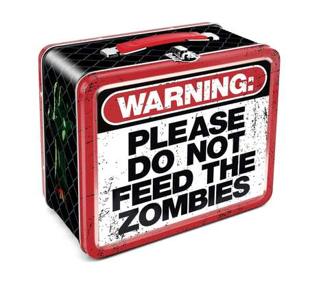 Zombie Warning Lunch Boxes