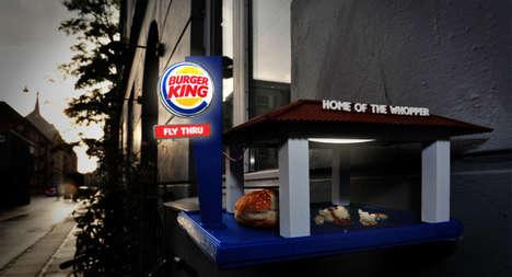 Fast Food Bird Feeders
