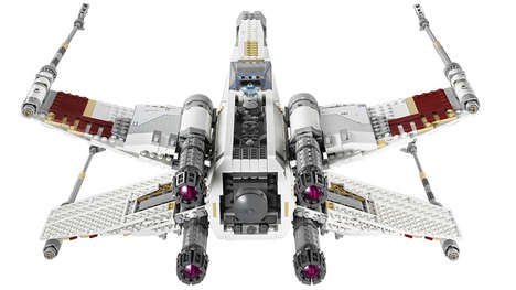 Detailed LEGO Spaceships