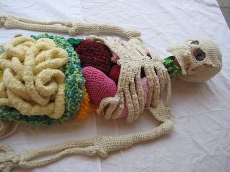 Knit Anatomical Art