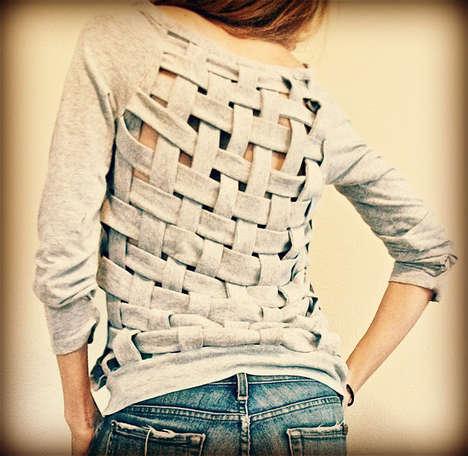 Braided Jersey Sweaters