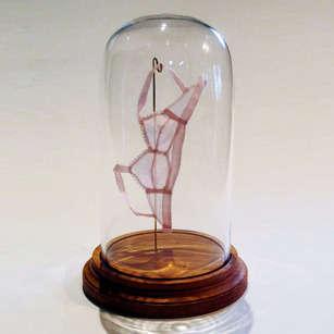 Miniature Undergarment Sculptures