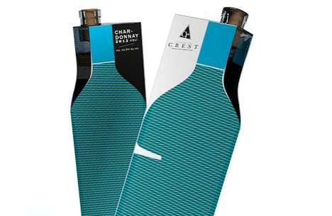 Illusory Paper Vino Packaging