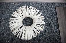 Hollow Donut-Shaped Seating - A Cotton in the Air by Jeilpark Appears to Defy Physics