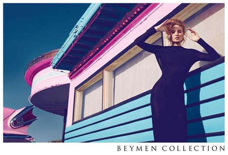 Retro Motel Fashion Ads