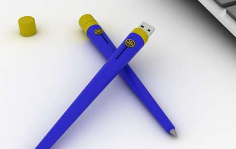 Flash Drive Doodlers - The Pen2 Has a Pair of Functions Designed to Better Furnish Your Desktop