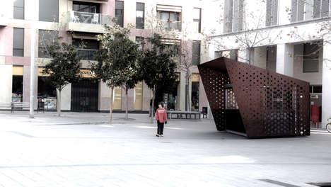 Prefab Plaza Pavilions