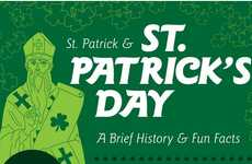 Historic St. Patrick's Infographics - This Chart Gives Details About St. Patrick's Day H