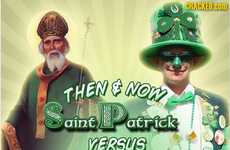 Crass Cultural Comparison Infographics - This Chart Details the Typical St. Patrick's Day Parties