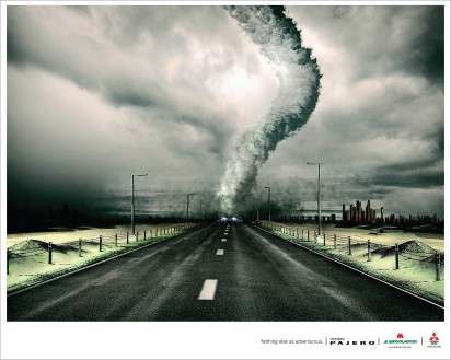 Natural Disaster Auto Ads