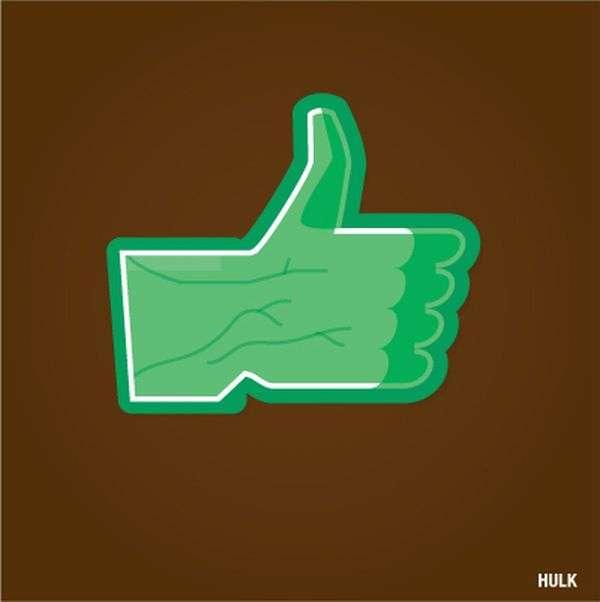 14 Facebook Inspired Designs