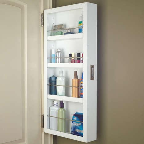 Hidden Back Door Cabinets