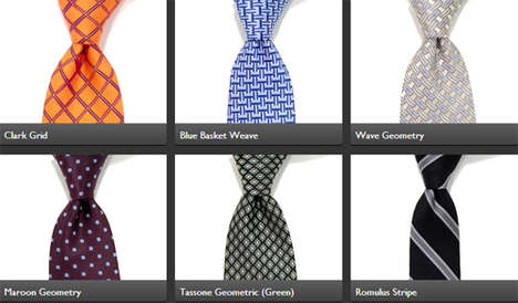 Subscription Tie Exchange Services - The Tie Society Lets Its Members Order and Exchange Ties
