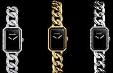 Luxury Chain-Link Timepieces - The Chanel 'Premiere' Watch Collection is Luxurious