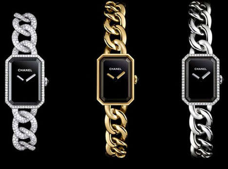 Luxury Chain-Link Timepieces