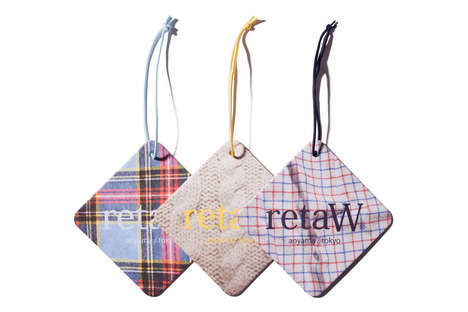 The Retaw Fragrance Car Tags Combine Unconventional Ingredients