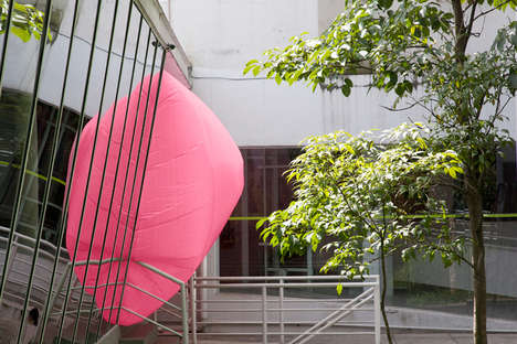 Billowing Inflatable Rooms