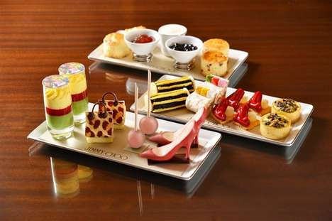 Fashion-Themed Tea Platters
