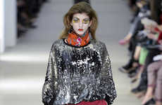 Elaborate Couture Clown Cosmetics - The Vivienne Westwood Red Label Fall Line is Jester-Themed