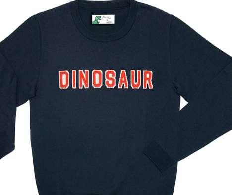 Graphic Dinosaur Sweaters