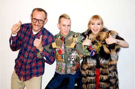 The Terry Richardson Studio Gets a Visit From Jeremy Scott & 2NE1's CL