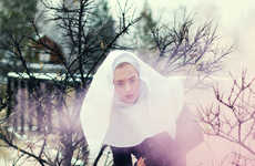 Rustic Nun Photoshoots - God Would Make it Much Harder by Oleg Bagmutskiy is Youthfully Religious