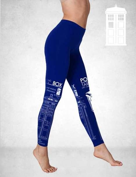 Sci-Fi Printed Leggings