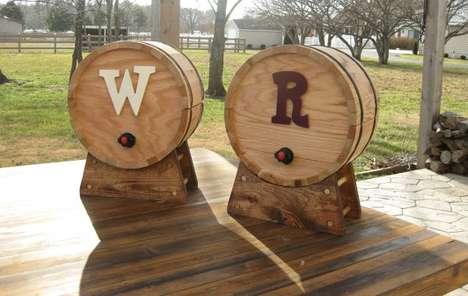 Vat Style Vino Vessels
