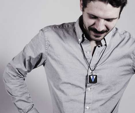 Customizable MP3 Necklaces