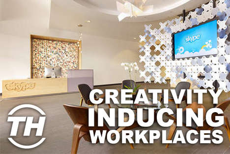 Creativity-Inducing Workplaces - Shelby Walsh Shows Off the World's Best Office Designs