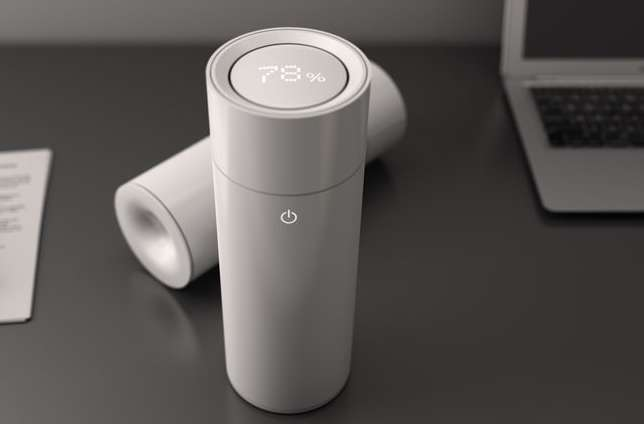 Unspillable Air Conditioners : Reversed Hole Natural Humidifier