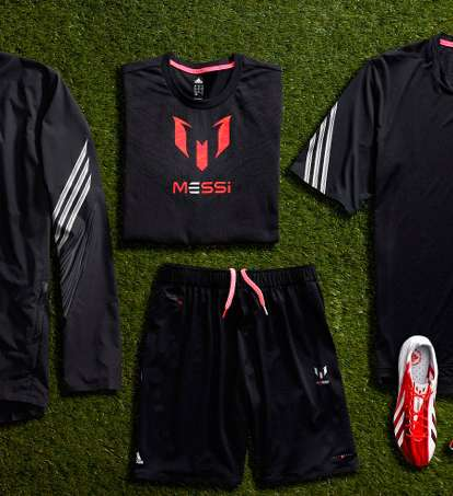 The Adidas Lionel Messi Collection Scores Big