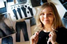 Wood-Based Denim - Dawn Ellams Uses Tencel to Create a Pair of Eco-Friendly Jeans