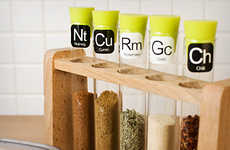 Science Lab Spice Racks - The Scientific Spice Rack Will Keep Your Spices Organized