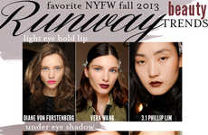 Nyfw Cosmetic Guides - The Cupcakes and Cashmere Fall Beauty Trends Are In-vogue