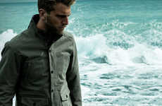 Suave Cycling Jackets - Aether Skyline Features Stylish Motorcycle Jackets With Safety in Mind