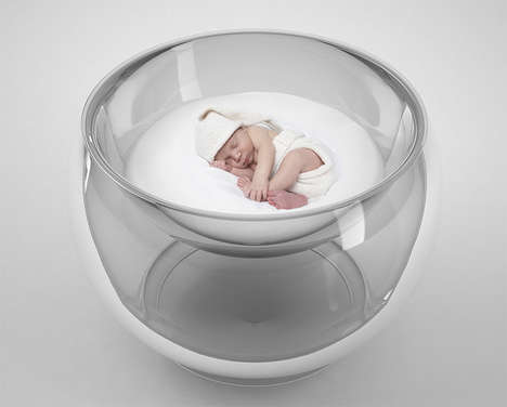 Bubble-Inspired Baby Beds (UPDATE) - The Baby Bubble Bed by Lana Agiyan Lulls Little Ones to Sleep