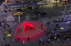 Amorous Boardwalk Installations - The Heartwalk by Situ Studio Honors Hurricane Sandy Experiences