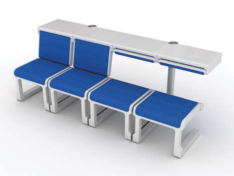 Adjustable Airport Seats