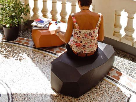 Galatic Rock-Like Furniture