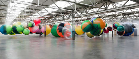 Giant Ball Installations