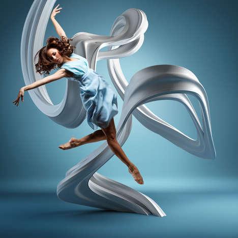 Mid-Air Dancer Snapshots