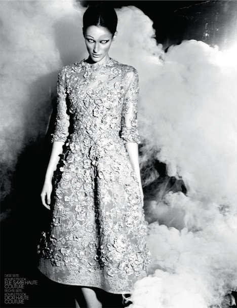 Demonic High Fashion Editorials