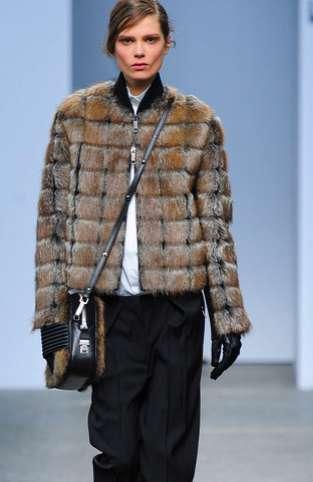 Fuzzy Appliquéd Fashions