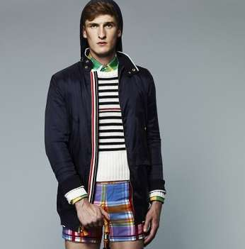 The Thom Browne 2013 S/S Collection is Multicolored