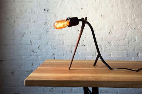 Propped-uUp Lighting