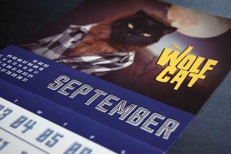 Costumed Feline Calendars