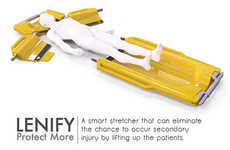 On-Site-Assembled Stretchers - Lenify Stretcher Reduces the Risk of Inflicting Additional Injuries